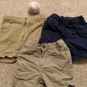 GAP & Old Navy Boy 18-24 Month Shorts